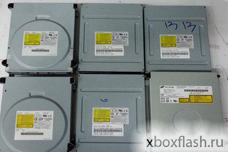 Приводы Xbox 360 и Xbox 360 Slim