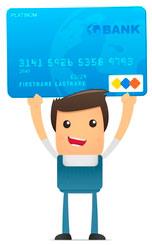 Оплата услуг по кредитным картам.