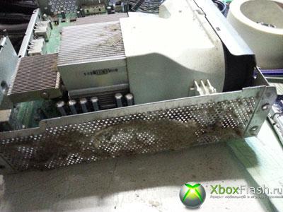 Чистка приставки xbox 360