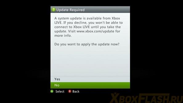 Dashboard Update Xbox 360