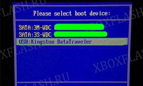 прошиваем hdd для xbox 360 дома