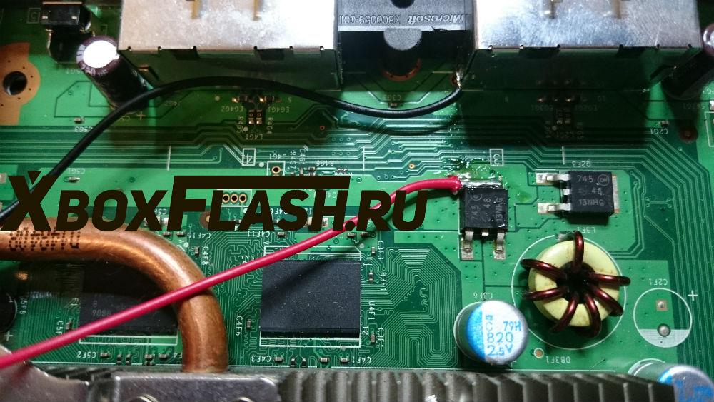 Припаять контакты вентилятора рис 2
